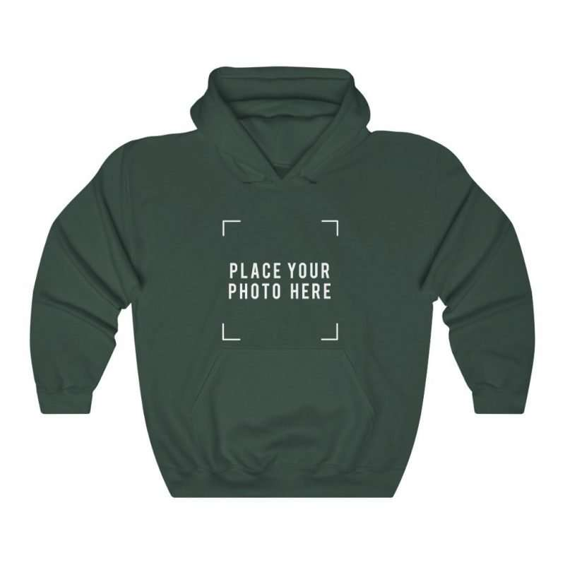 Custom Hooded Sweatshirt Personalized