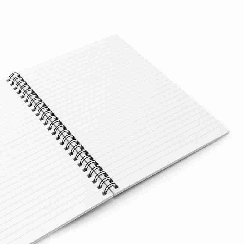 Custom Spiral Notebook - Ruled Line