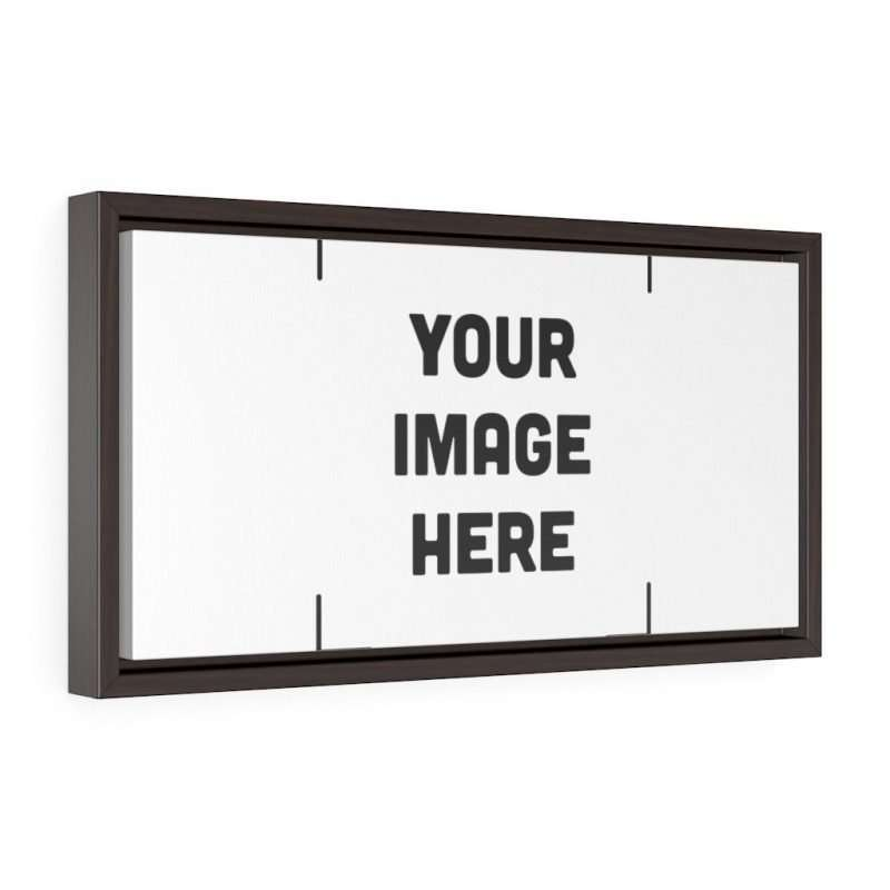Custom Horizontal Framed Premium Gallery Wrap Canvas Personalized
