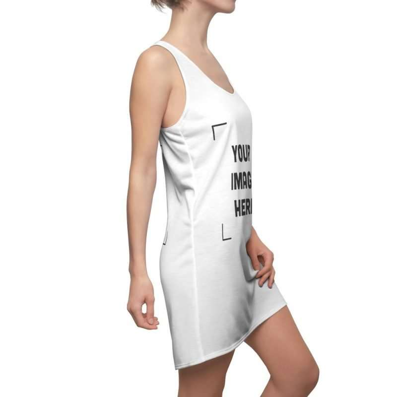 Custom Women's Cut & Sew Racerback Dress Personalized