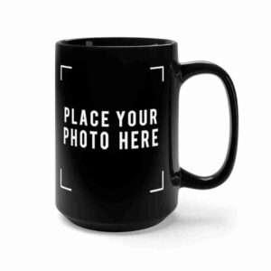 Custom Black Mug 15oz Personalized
