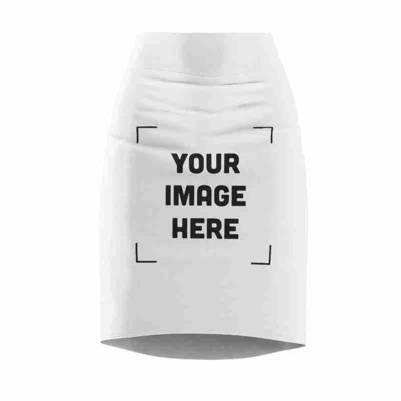 Women's Custom Pencil Skirt Personalized
