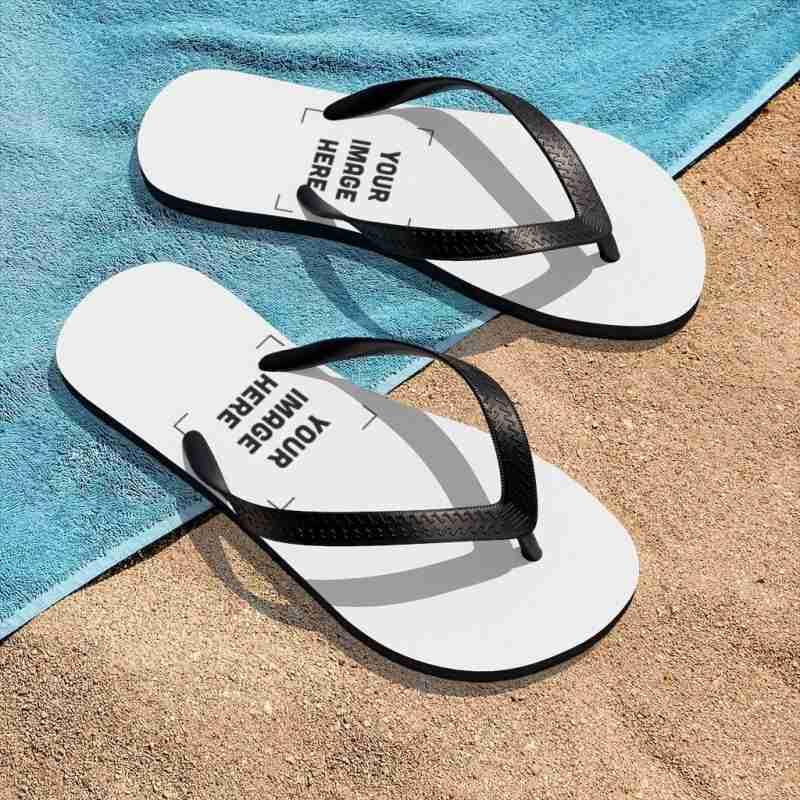 Custom Unisex Flip-Flops Personalized