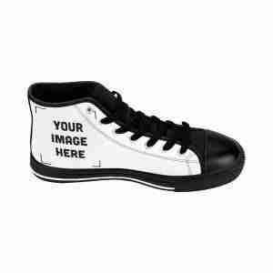 Custom Men's High-top Sneakers Personalized