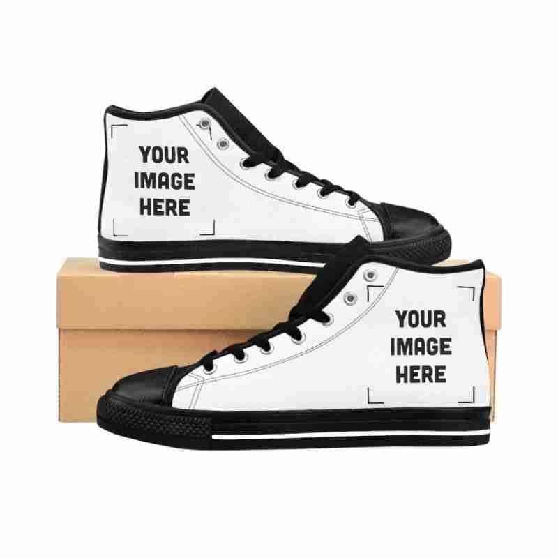 Custom Women's High-top Sneakers Personalized