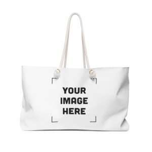 Custom Weekender Bag Personalized with photo text