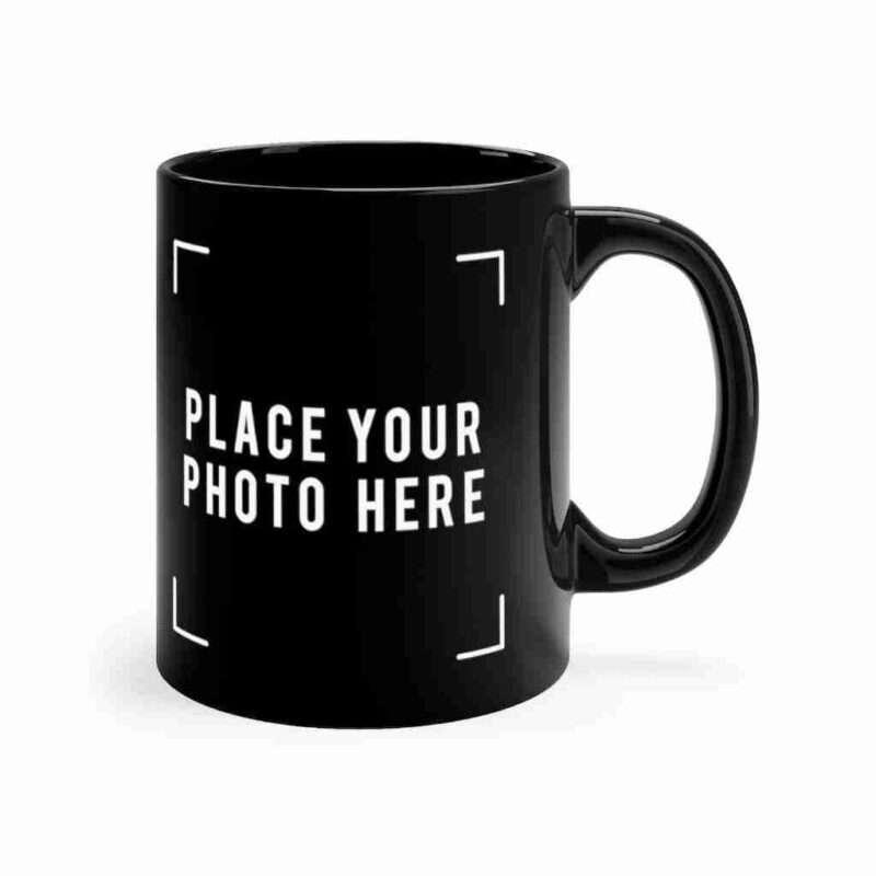 Custom Black mug 11oz Personalized