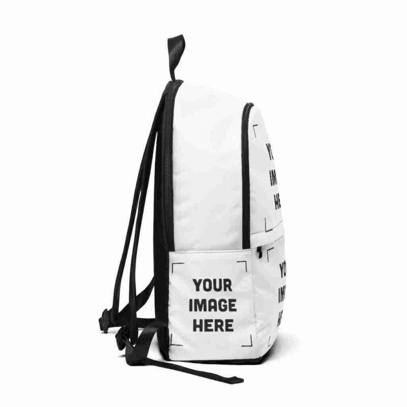Custom Unisex Fabric Backpack Personalized Backpack