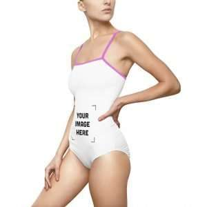Women's Custom One-piece Swimsuit Personalized