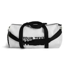 Personalized Duffel Bag Customizable with you design / photo