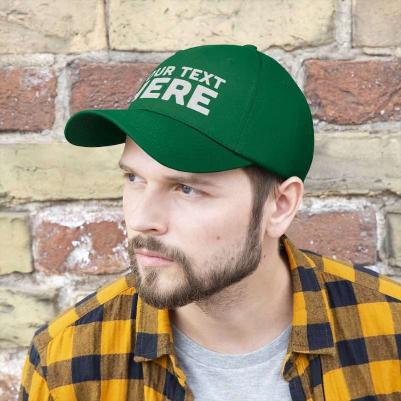 Custom Twill Hat Embroidery Personalized  Unisex Twill Hat