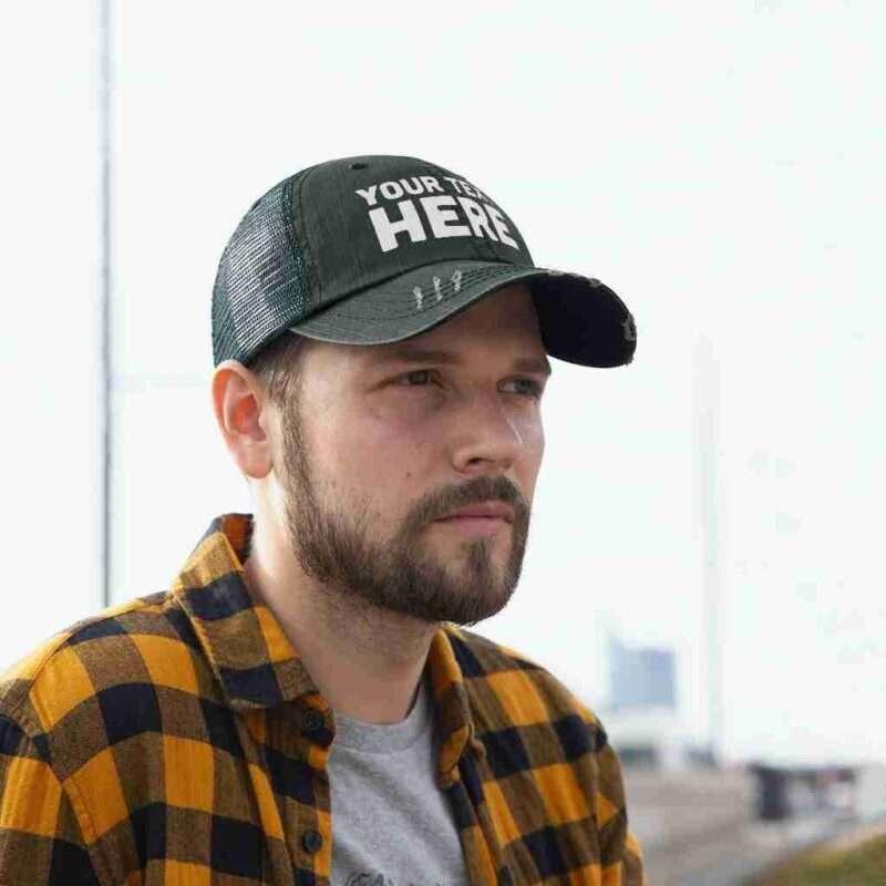Custom Trucker Hat, Personalized Unisex Embroidery Trucker Hat