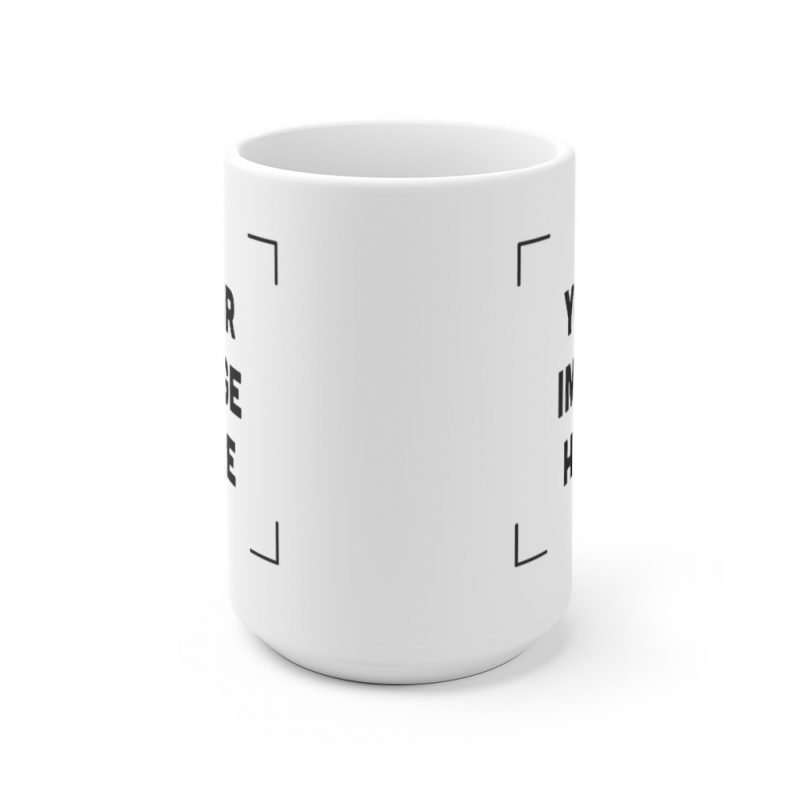 Custom White Ceramic Mug Personalized