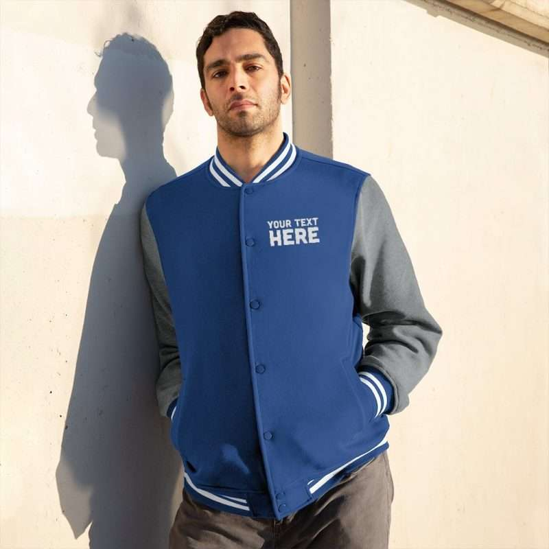 Custom Men's Varsity Jacket Personalized