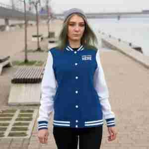 Custom Women's Varsity Jacket Personalized