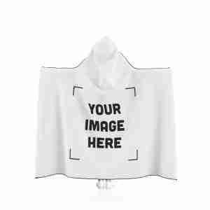 Personalized Hooded Blanket Custom Hooded Blanket