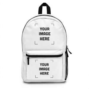Personalized Backpack (Made in USA) Customizable with you photo Images text