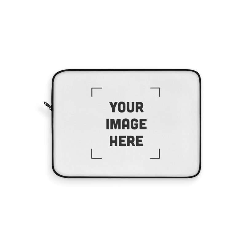 Custom Laptop Sleeve Personalized with photo text