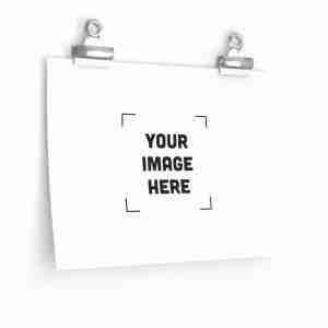 Custom Premium Matte horizontal posters Personalized