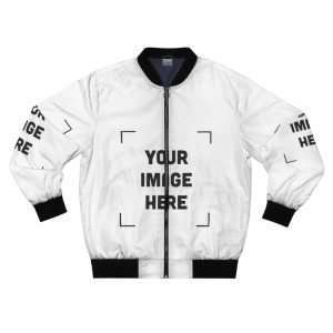 Custom Men's Bomber Jacket Personalized