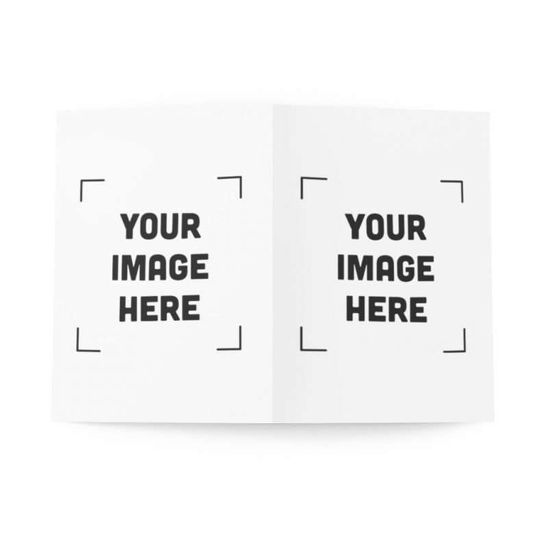 Personalized Greeting Cards (8 pcs) design your Greeting Cards