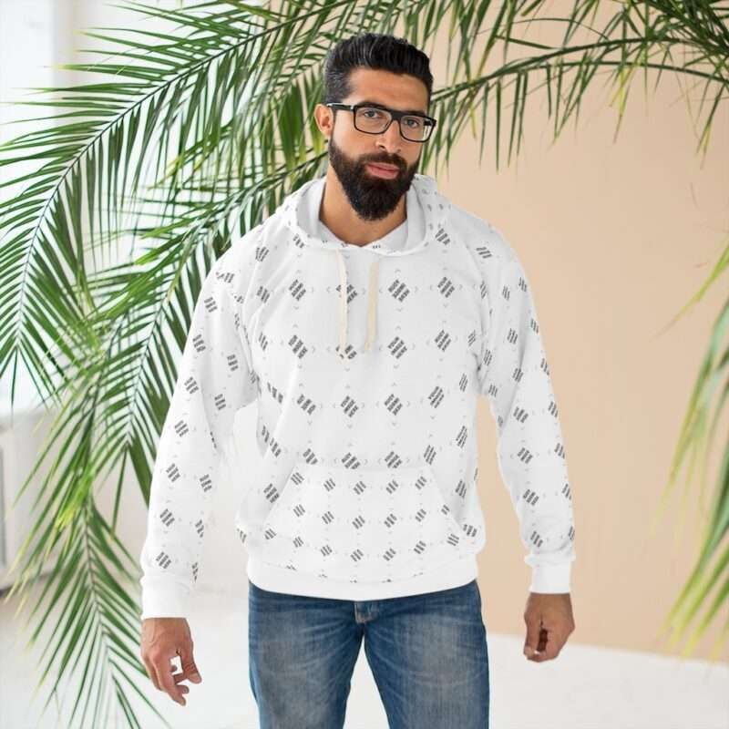 Custom AOP Unisex Pullover Hoodie Personalized All over Print