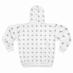 Custom AOP Unisex Zip Hoodie Personalized