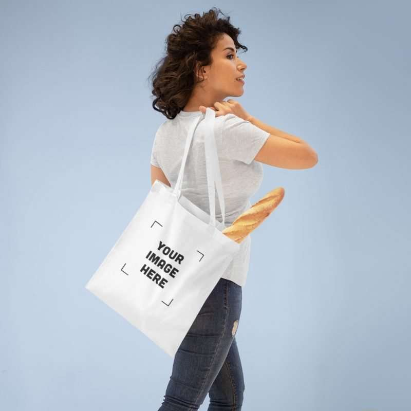 Custom Tote Bag Personalizable with your image and text
