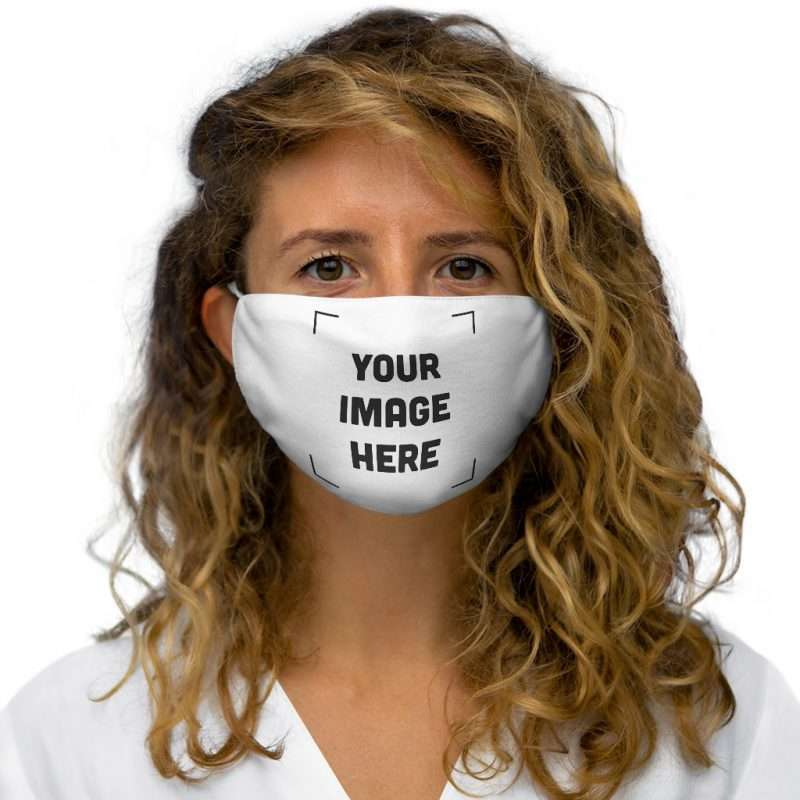 Personalized Snug-Fit Polyester Face Mask