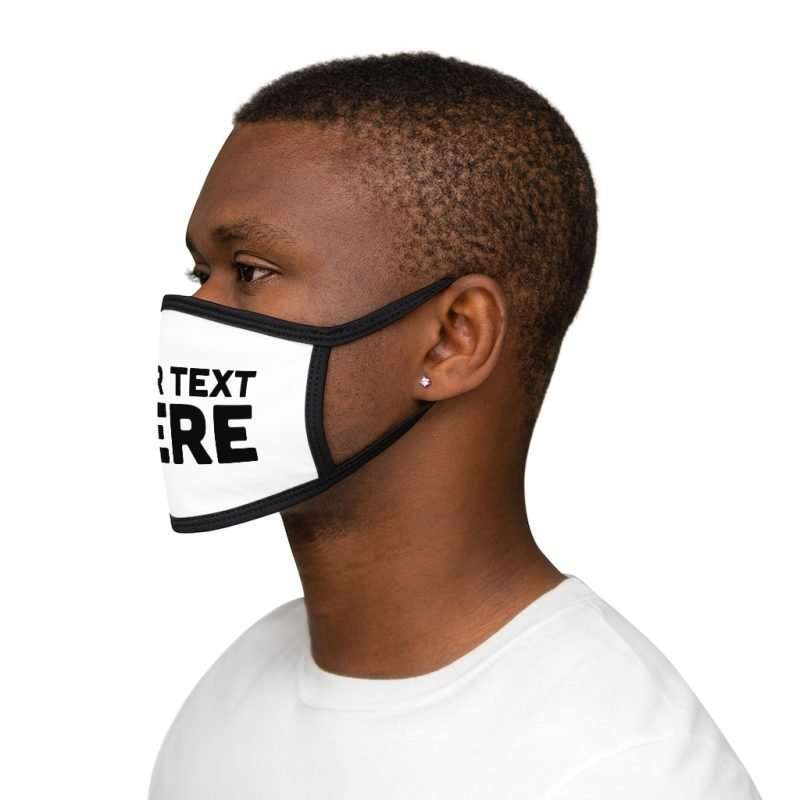 Personalized Mixed-Fabric Face Mask