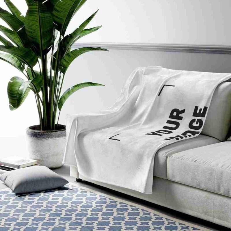 Personalized Velveteen Plush Blanket