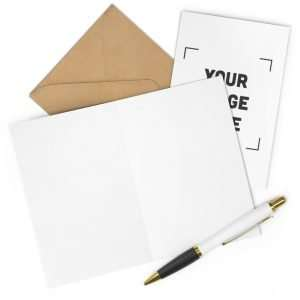 Personalized Greeting Cards (7 pcs)