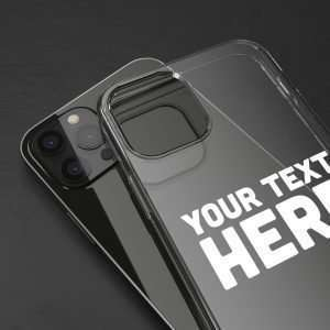 Personalized Clear Cases for iPhone 12 PRO Custom Cases iPhone 12