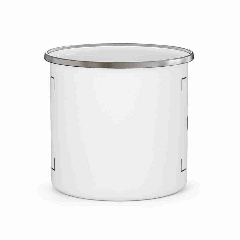 Custom Enamel Camping Mug Personalized