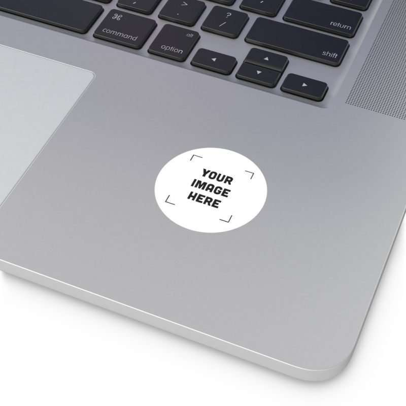 Custom Round Vinyl Stickers Personalized Sticker