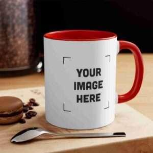 Custom 11oz Accent Mug Personalized