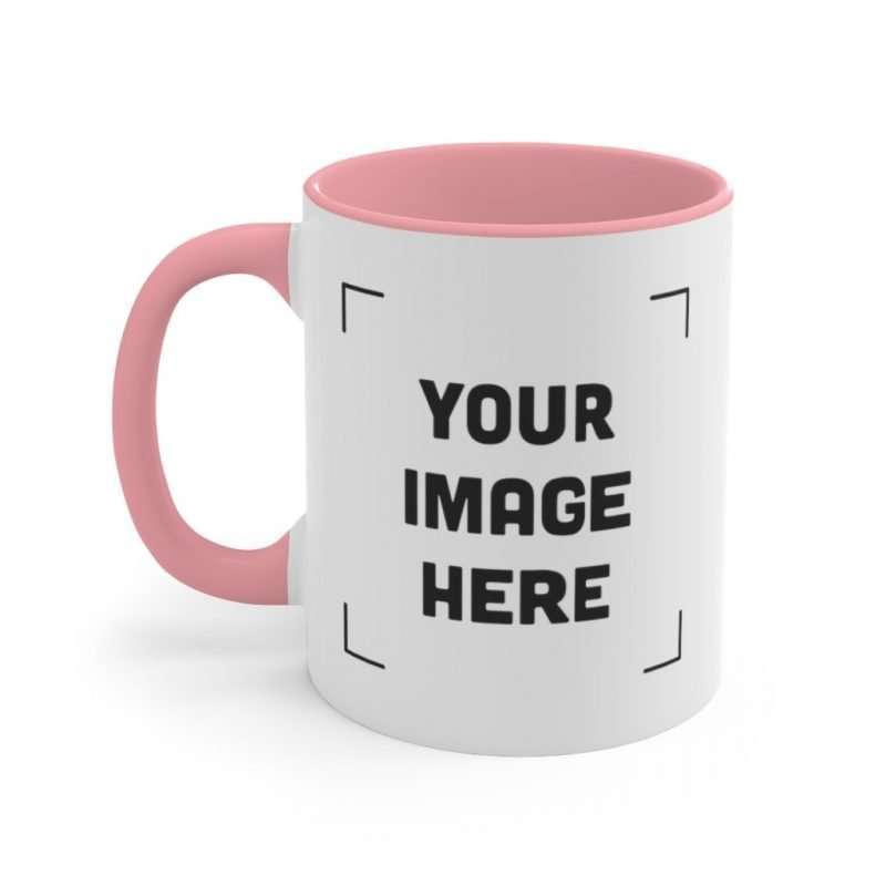 Personalized Accent Mug Customize it with your Photo