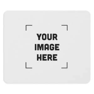 Personalized Round and Rectangular Mousepad - Customize mouse pad with your image/photo