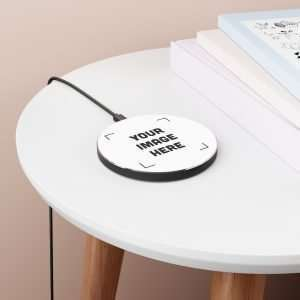 Personalized Wireless Charger Custom design Wireless Charger Upload Your image