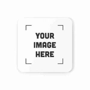 Personalized Coaster Custom Cork Back Coaster