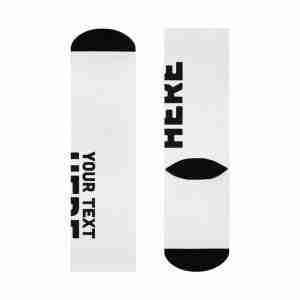Custom Socks Personalized DTG Crew Socks