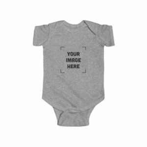 Custom Infant Fine Jersey Bodysuit Personalized
