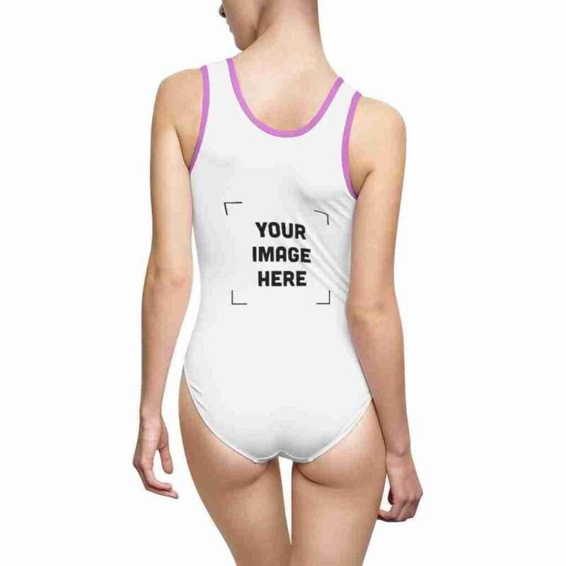 Custom Women's Classic One-Piece Swimsuit Personalized
