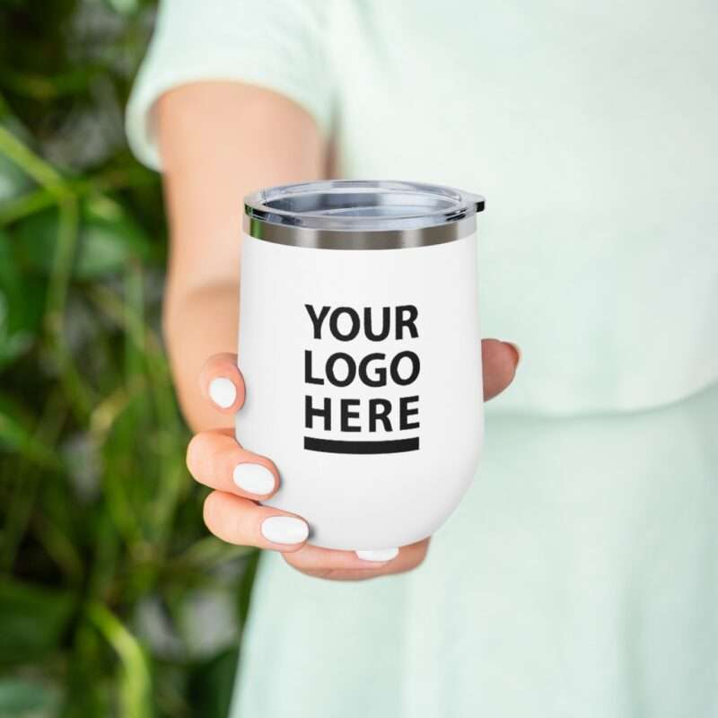 Personalized 12oz Insulated Wine Tumbler