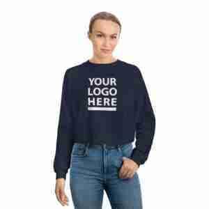 Personalized Women's Raglan Pullover Fleece Sweatshirt